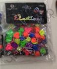 Аксессуары для плетения браслетов из резинок Цветочки в пакетиках